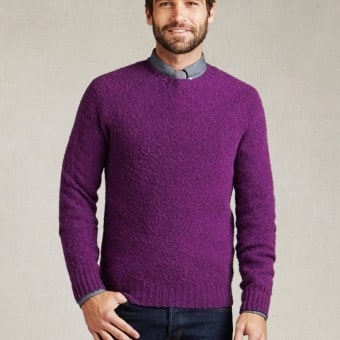 Purple Scotland Sweater